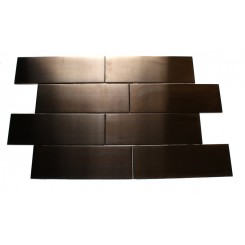Metal Copper Stainless Steel 2x6 Tiles