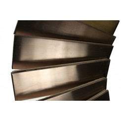 Metal Rose Stainless Steel 2x6 Tiles