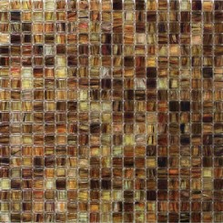 Celeste Spice Gold Glass Tile