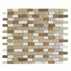 Alloy Golden Gate Glass & Marble Mosaic Tiles