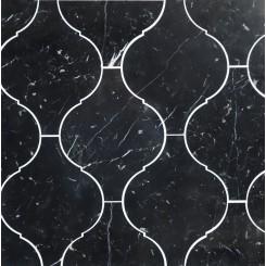 Beacon Nero Marquina Polished Marble Tile