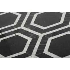 Nova Black Hole Marble Tiles