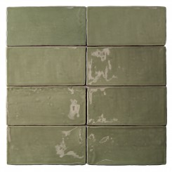 Lancaster 3x6 Celery Polished Ceramic Tile