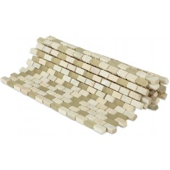 Paragon Beige Rapa Mini Brick Pattern  Tile