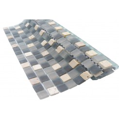 Alloy Pavestone 1/2 x 1/2 Marble and Glass Tile