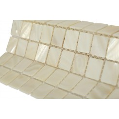 Mother Of Pearl Oyster White  Tile