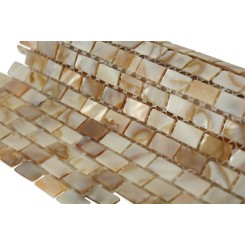 South Seas Pearls Mini Brick Pattern  Tile