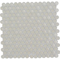 Loft Sand Beach Glass Penny Round Tiles