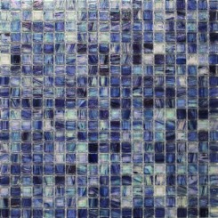 Celeste Bermuda Blue Glass Tile