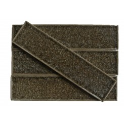 Roman Collection Spanish Olive 2x8 Glass Tile