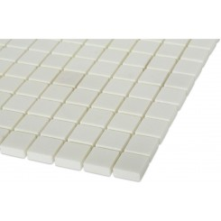 Polished White Thassos 1x1 Marble Tile