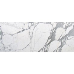 "Statuario 6""x18"" Polished Marble Tile"