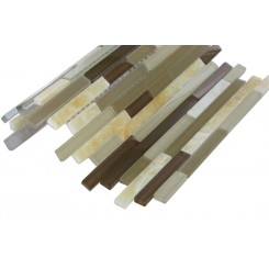Tao Toffee Marble & Glass Tiles