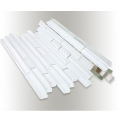 Tao Super White Glass Tile