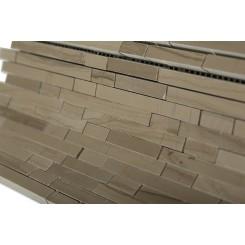 Torpedo Athens Gray Marble Mosaic Tiles