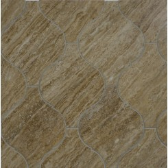 Beacon Noce Travertine Polished Marble Tile
