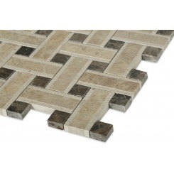 Twine Woodland Blend Marble Tile
