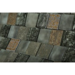 Vestige Storm Clouds Marble & Glass Tiles