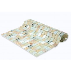 Whimsical Casablanca Glass Tile