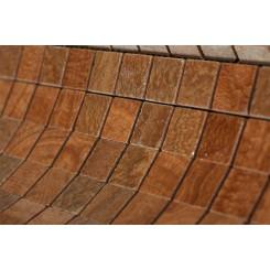 Wood Onyx 3/4x3/4 Marble Tile