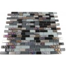 Nimbus Gray Blend Bricks 1/2x2 Marble & Glass Tile Bricks