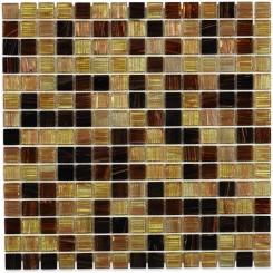 Coffee Bean 3/4x3/4 Glass Tile