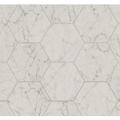 Dicava Carrara Esagona 16x14 Porcelain Tile