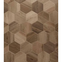 Esagona King Nut 9.6X11.08 Porcelain Tile