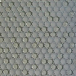 Loft Sage Penny Round Glass Tiles