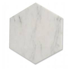Zenith Asian Statuary Hexagon Honed Marble Tile