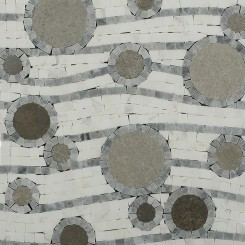 Province Circles Marble Tile