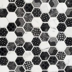 Edgecomb Ozark Hexagon Stone Tile