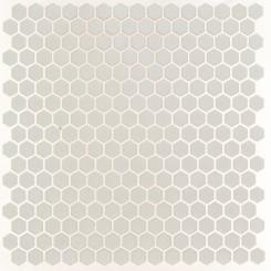 Eden White Hexagon Matte Ceramic Tile