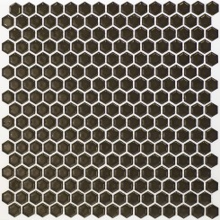 Eden Rimmed Pavement Hexagon Polished Ceramic Tile