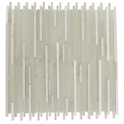 "BREEZE STYLUS CREMA ICE PATTERN 1/8"" X RANDOM GLASS TILES_MAIN"