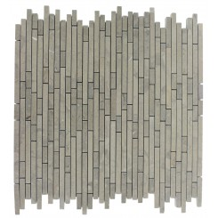 TORPEDO 1/4 X RANDOM LAGOS GREY PATTERN MARBLE MOSAIC TILES_MAIN