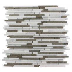TORPEDO 1/4 X RANDOM ALASKAN BLEND PATTERN MARBLE MOSAIC TILES_MAIN