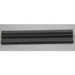Chair Rail Basalt Polished 2x12 Marble Liner