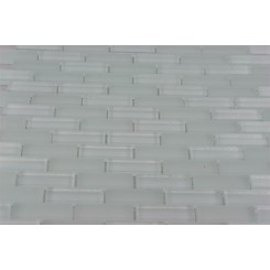 SAMPLE - LOFT SEAFOAM BRICK 1/2X2 GLASS TILES 1 PIECE SAMPLE_MAIN