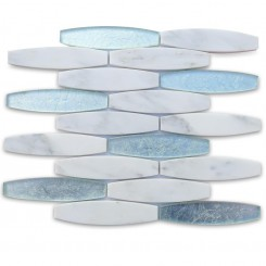 Isle Mystique Glass and Marble Tile
