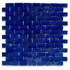 Gaby Abyss Bricks Glass Tiles