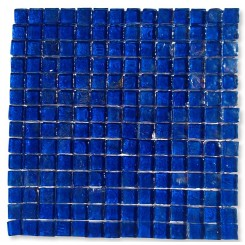 Gaby Abyss Square Glass Tiles  (Meshless)