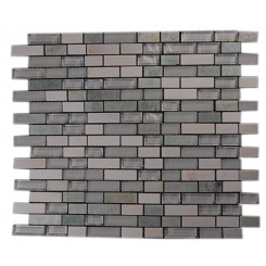 ALLOY FUSION GRASSPLAINS 1/2X2 GLASS & MARBLE MOSAIC TILES_MAIN