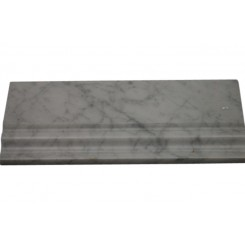 BASE MOLDING WHITE CARRERA 5X12 MARBLE LINER_MAIN