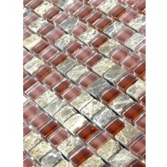 "sample- BOURBON BLEND 1/2 X 1/2""  TILE 1/4 SHEET SAMPLE""_MAIN"