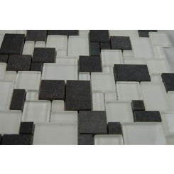 sample-BREEZE BASALT ICE VENETIAN PATTERN 1/4 SHEET GLASS TILES SAMPLE_MAIN