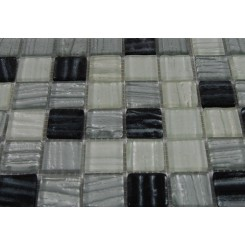 sample-BRIO ZODIAC BLEND 1X1 1/4 SHEET GLASS TILES SQUARES SAMPLE_MAIN