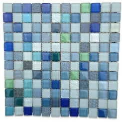 Caspian Sea Glass Tiles