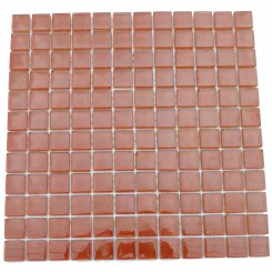 Loft Cedar Chest 1x1 Glass Tiles