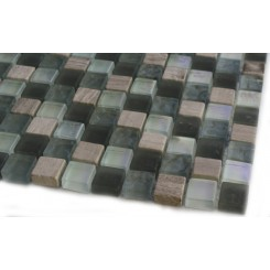 "Sample- Constellation Blend Squares 1/2"" X 1/2""  Tiles 1/4sheet Sample"